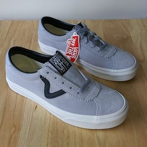 Vans Sport Zen Suede Blue True White Skate Shoes